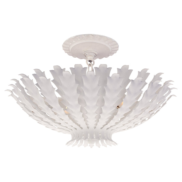 Visual Comfort ARN 4011PW AERIN Hampton Small Chandelier in Plaster White