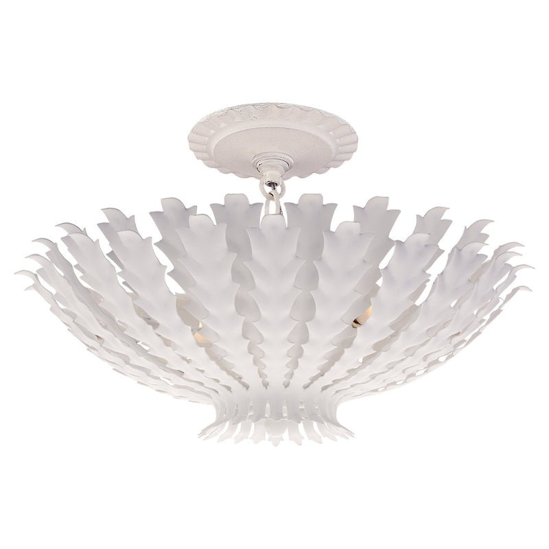 Visual Comfort ARN 4011PW AERIN Casual Hampton Small Chandelier in Plaster White
