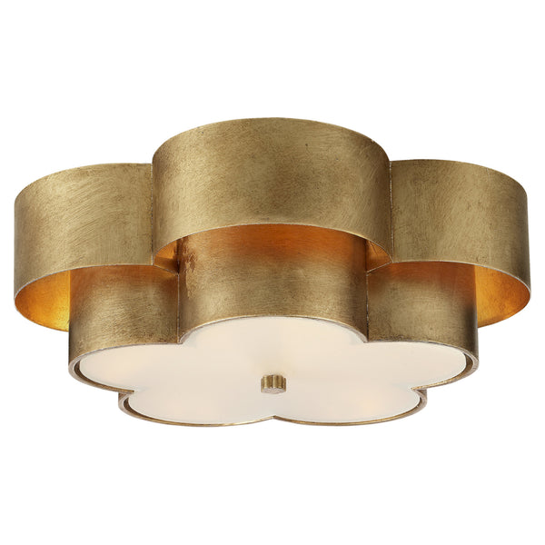 Visual Comfort ARN 4307G-FG AERIN Arabelle Large Flush Mount in Gild