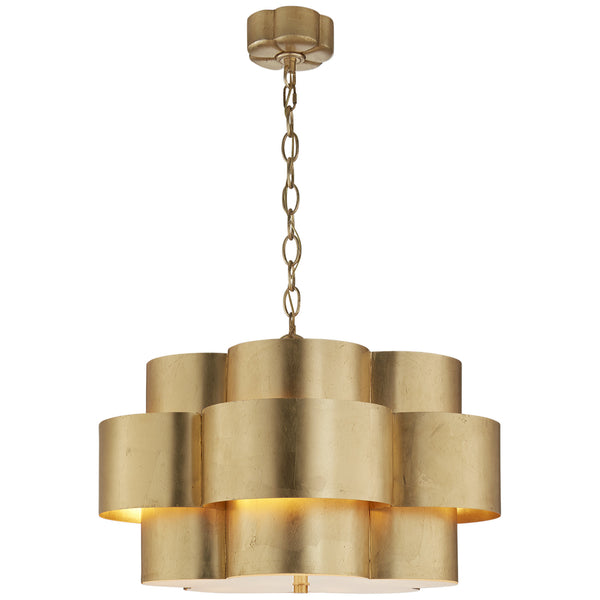 Visual Comfort ARN 5306G AERIN Arabelle Hanging Shade in Gild
