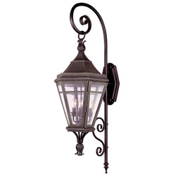 Troy Lighting B1273NR Morgan Hill 4lt Wall Lantern Extra Large in Solid Brass