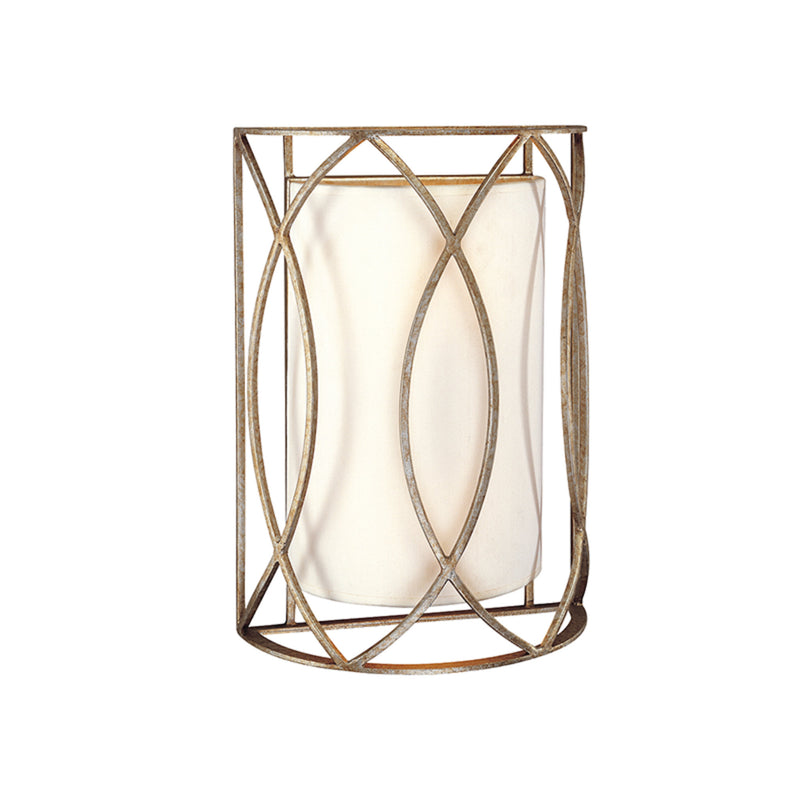 Troy Lighting B1289SG Sausalito 2lt Wall Sconce in Hand-Worked Iron