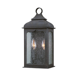 Troy Lighting B2010CI Henry Street 2lt Pocket Lantern Small in Hand-Worked Iron