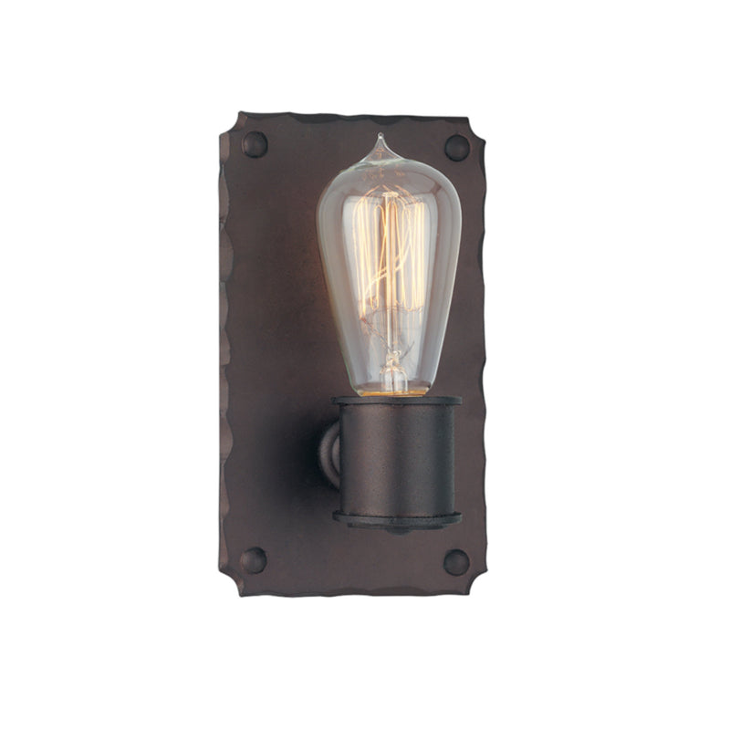 Troy Lighting B2501CB Jackson 1lt Wall Sconce in Hand-Worked Iron