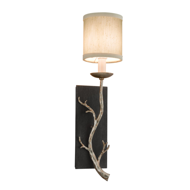 Troy Lighting B2841 Adirondack 1lt Wall Sconce in Hand-Worked Iron