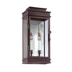 Troy Lighting B2972 Vintage 2lt Wall Lantern Medium in Hand-Forged Iron