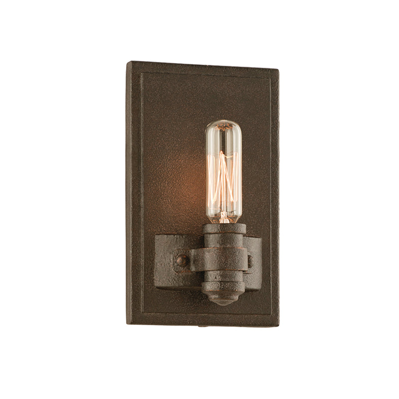 Troy Lighting B3121 Pike Place 1lt Wall Sconce in Solid Aluminum