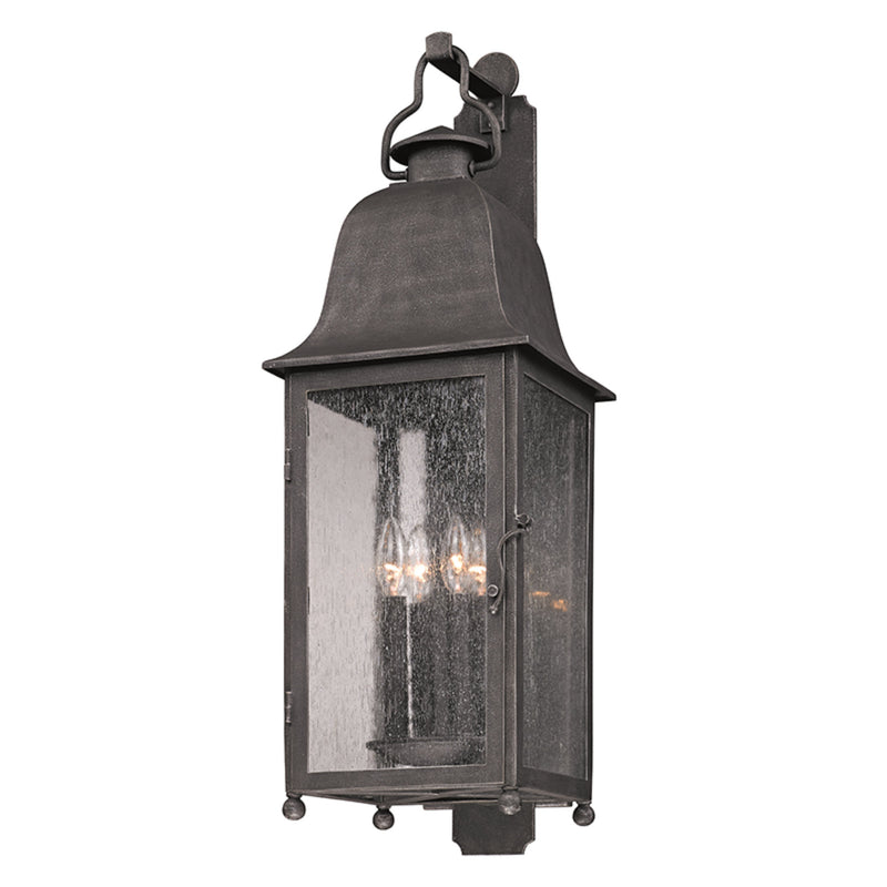 Troy Lighting B3213 Larchmont 4lt Wall Lantern Large in Hand-Worked Iron