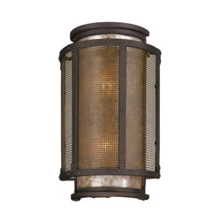 Troy Lighting B3273 Copper Mountain 2lt Wall Lantern Large in Hand-Worked Iron