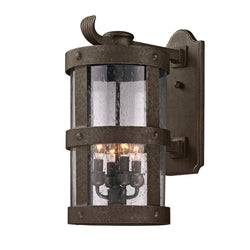 Troy Lighting B3313 Barbosa 4lt Wall Lantern Large in Hand-Worked Iron