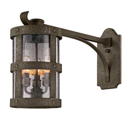 Troy Lighting B3315 Barbosa 3lt Wall Lantern Extended Arm Medium in Hand-Worked Iron
