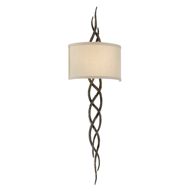Troy Lighting B3462 Tattoo 2lt Wall Sconce in Hand-Worked Iron