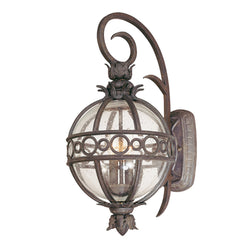 Troy Lighting B5002CB Campanile 2lt Wall Lantern Medium in Hand-Worked Iron And Aluminum