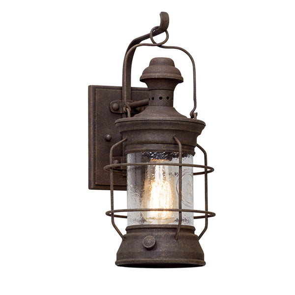 Troy Lighting B5051 Atkins 1lt Wall Lantern Small in Hand-Worked Iron