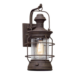 Troy Lighting B5052 Atkins 1lt Wall Lantern Medium in Hand-Worked Iron