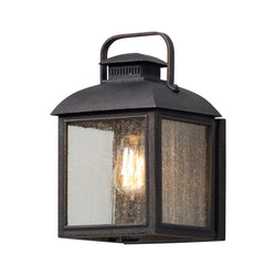 Troy Lighting B5081 Chamberlain 1lt Wall Lantern Small in Solid Aluminum