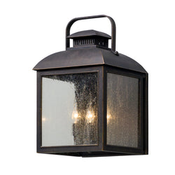 Troy Lighting B5083 Chamberlain 4lt Wall Lantern Large in Solid Aluminum