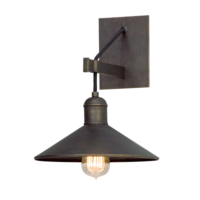 Troy Lighting B5421 Mccoy 1lt Wall Sconce in Hand-Worked Iron