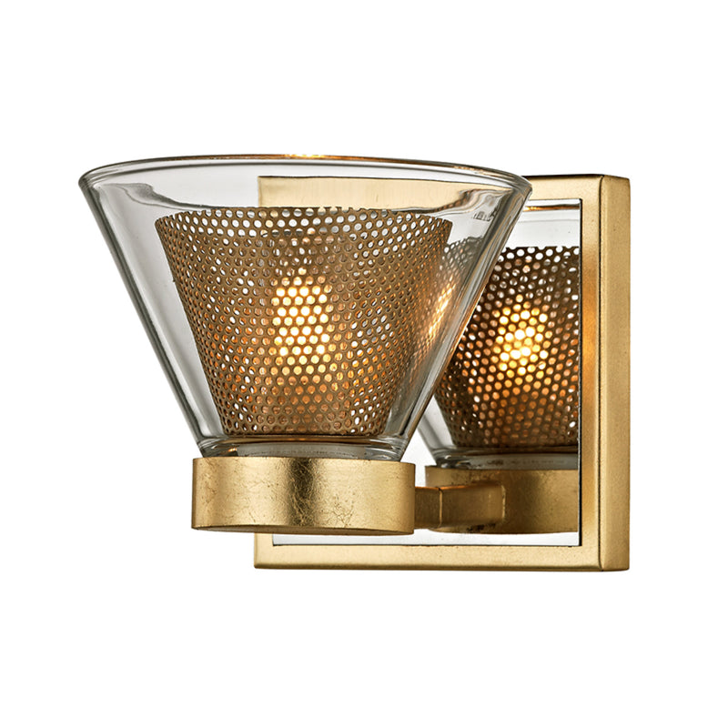 Troy Lighting B5821 Wink 1lt Wall Bath Gold Leaf in Hand-Worked Iron
