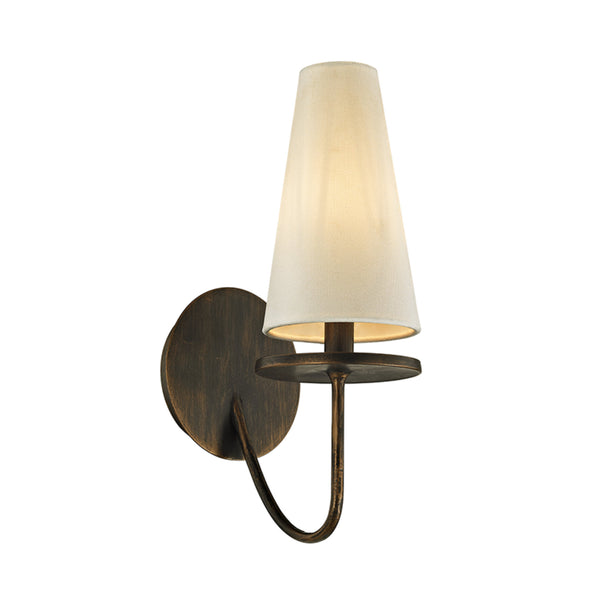 Troy Lighting B6291 Marcel 1lt Wall Sconce in Hand-Worked Iron