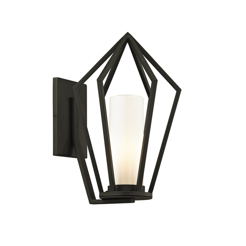 Troy Lighting B6341 Whitley Heights 1lt Wall in Hand-Worked Iron