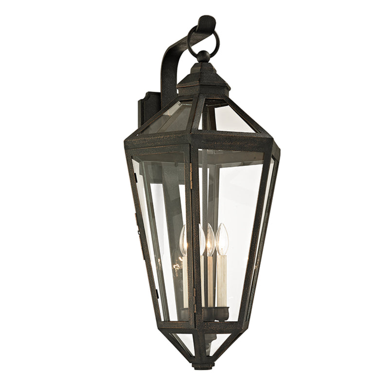 Troy Lighting B6374 Calabasas 4lt Wall in Hand-Worked Iron