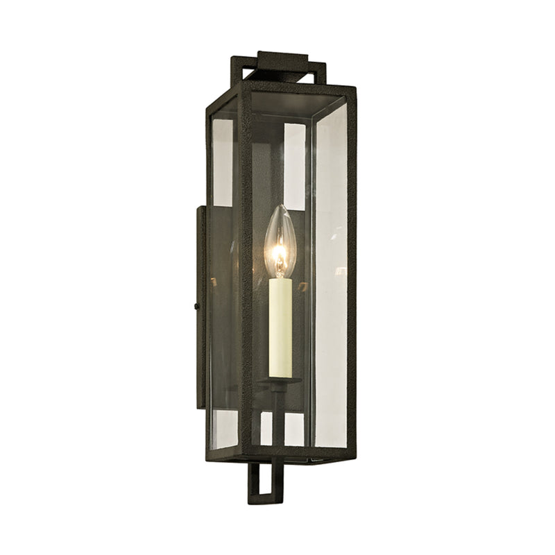Troy Lighting B6381 Beckham 1lt Wall in Hand-Worked Iron