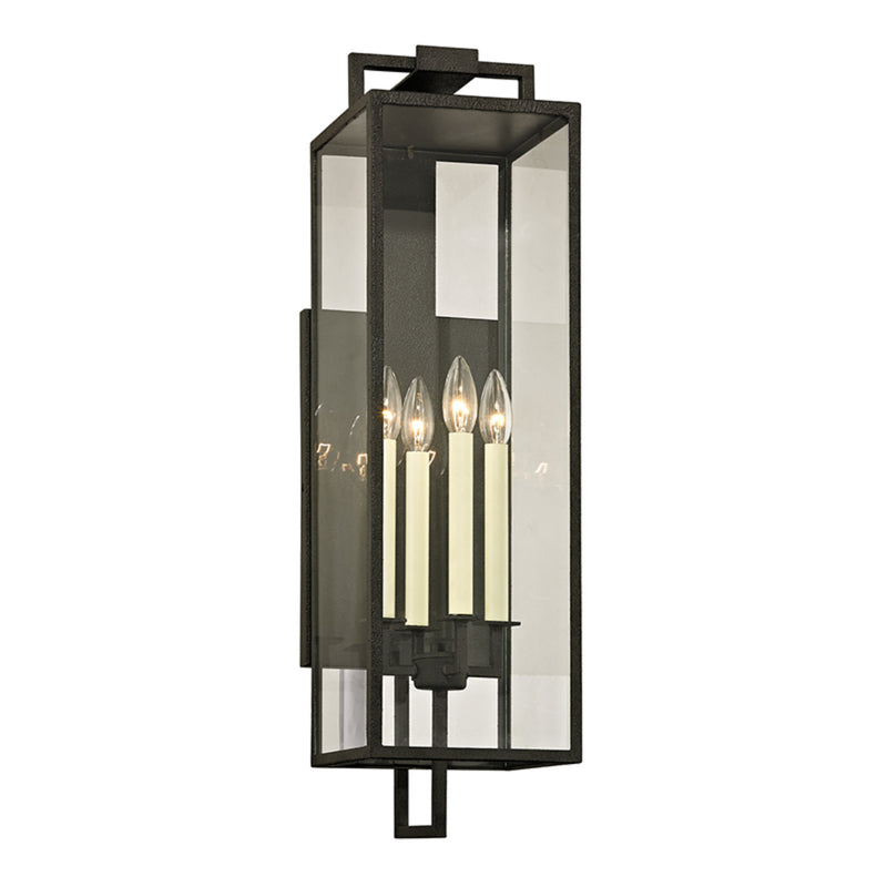 Troy Lighting B6383 Beckham 4lt Wall in Hand-Worked Iron