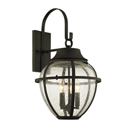 Troy Lighting B6452 Bunker Hill 3lt Wall in Hand-Worked Iron