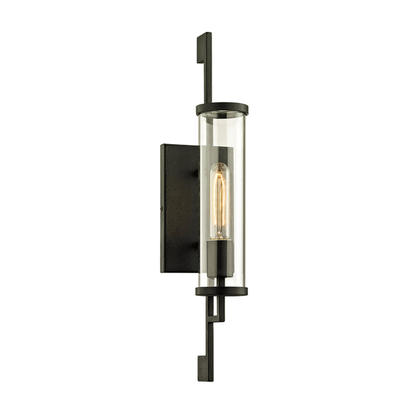 Troy Lighting B6461 Park Slope 1lt Wall in Hand-Worked Iron