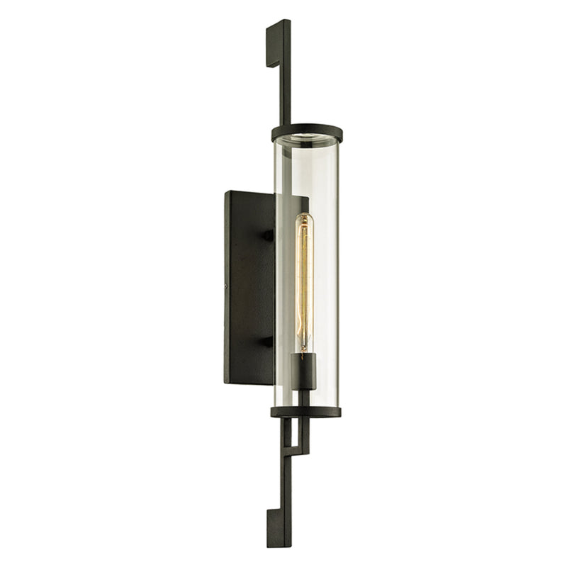 Troy Lighting B6463 Park Slope 1lt Wall in Hand-Worked Iron
