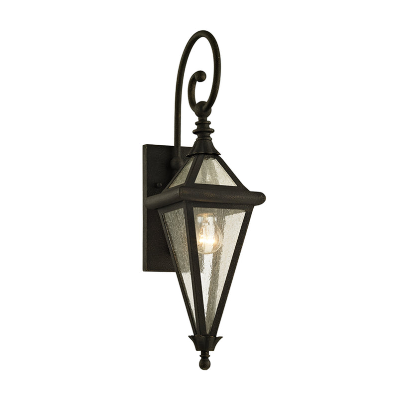 Troy Lighting B6471 Geneva 1lt Wall in Solid Aluminum