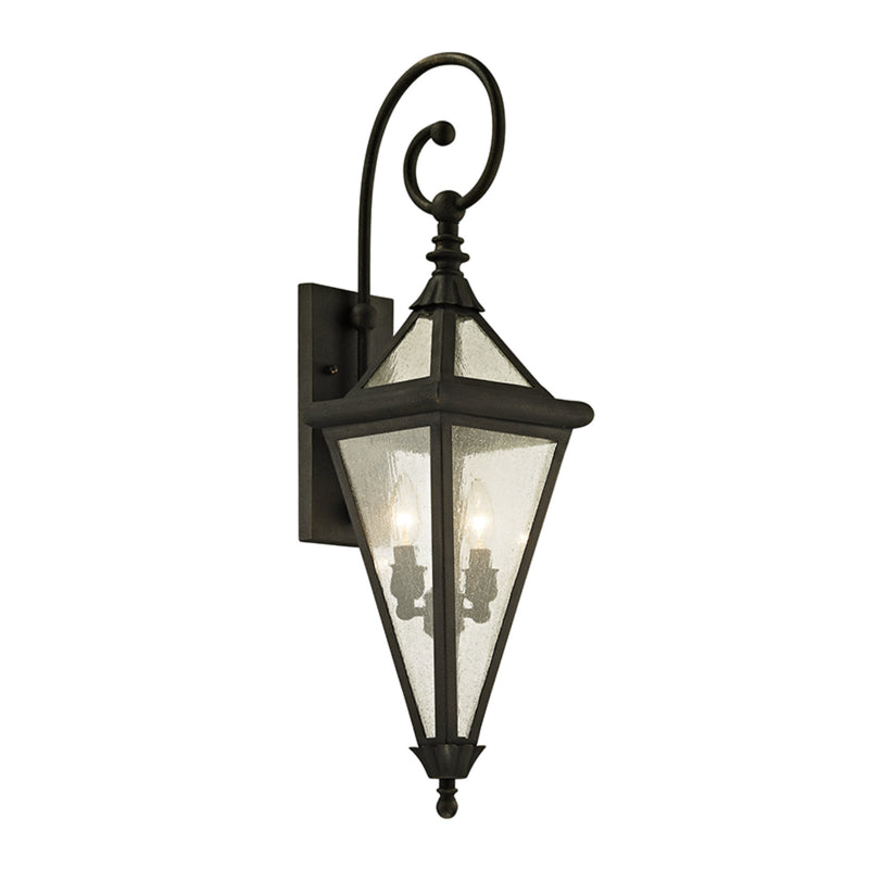 Troy Lighting B6472 Geneva 2lt Wall in Solid Aluminum