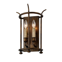 Troy Lighting B6641 Paso Robles 1lt Wall in Hand-Worked Iron