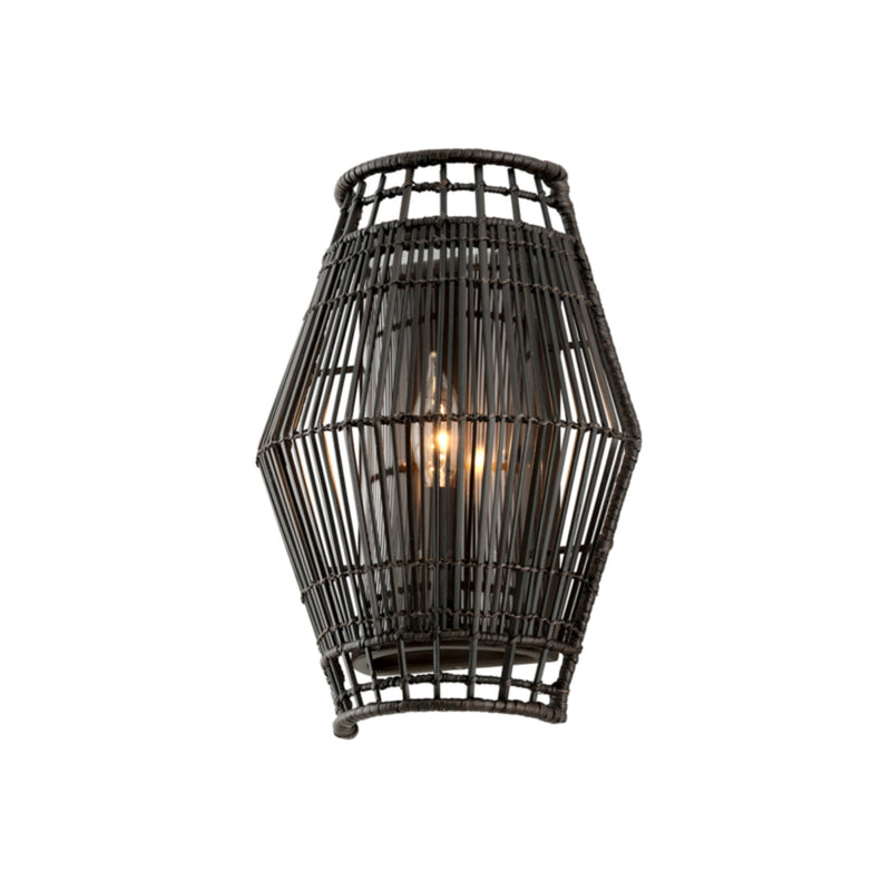 Troy Lighting B6721 Hunters Point 1lt Wall Sconce in Hand-Worked Iron