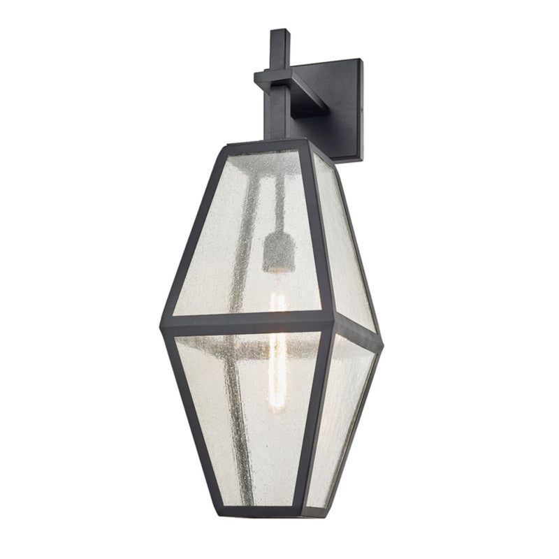 Troy Lighting B6803 Oak Knoll 1lt Wall in Stainless Steel