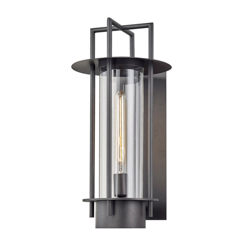 Troy Lighting B6812 Carroll Park 1lt Wall in Hand-Worked Iron