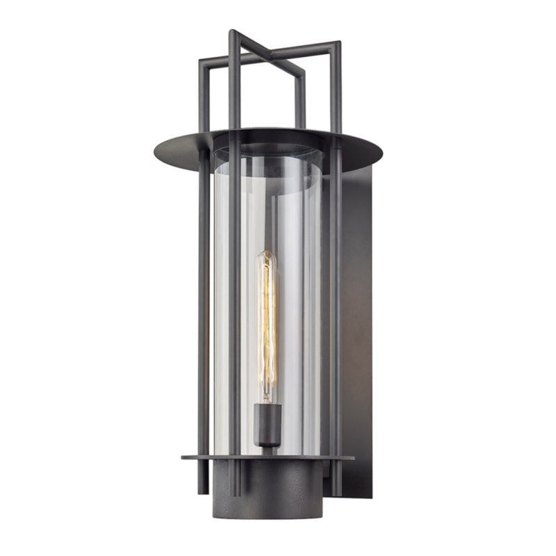 Troy Lighting B6813 Carroll Park 1lt Wall in Hand-Worked Iron