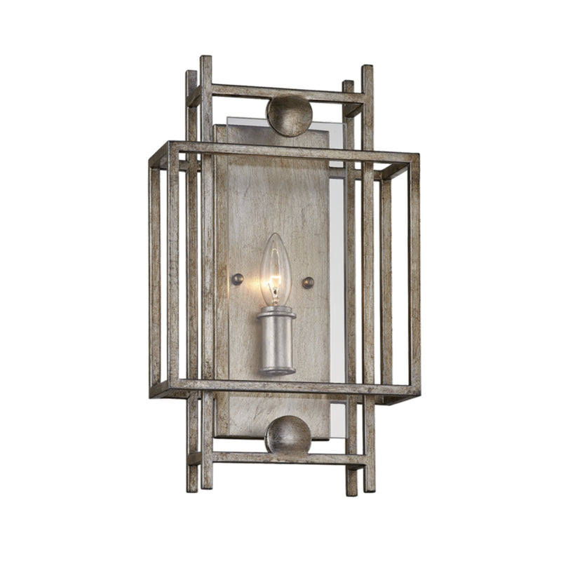 Troy Lighting B7131 Crosby 1lt Wall Sconce in Hand-Worked Iron