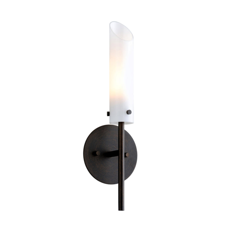 Troy Lighting B7221 High Line 1lt Wall Sconce in Hand-Worked Iron
