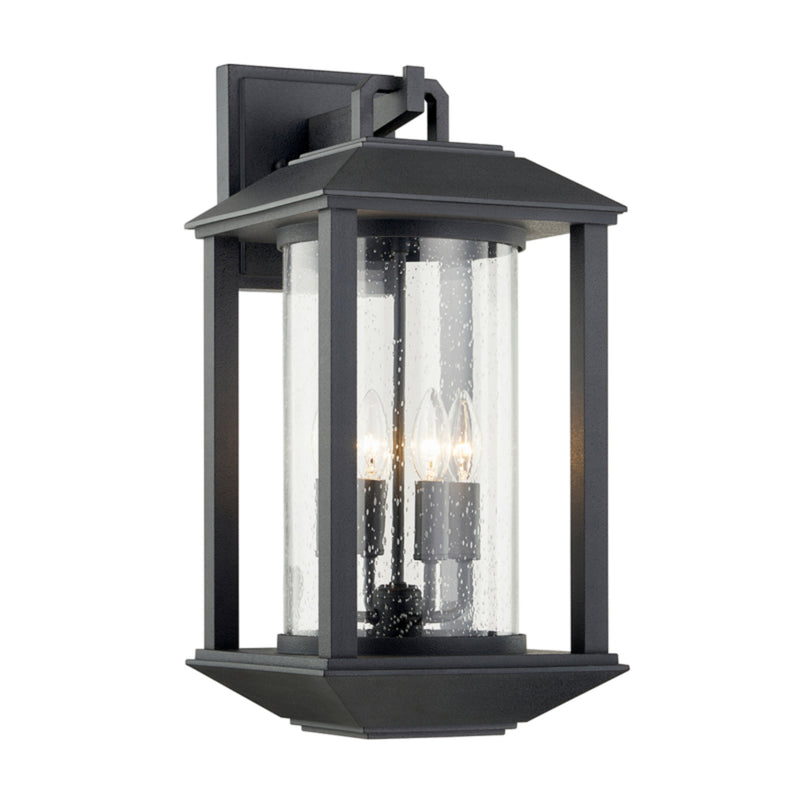 Troy Lighting B7283 Mccarthy 4lt Wall in Hand-Crafted Aluminum