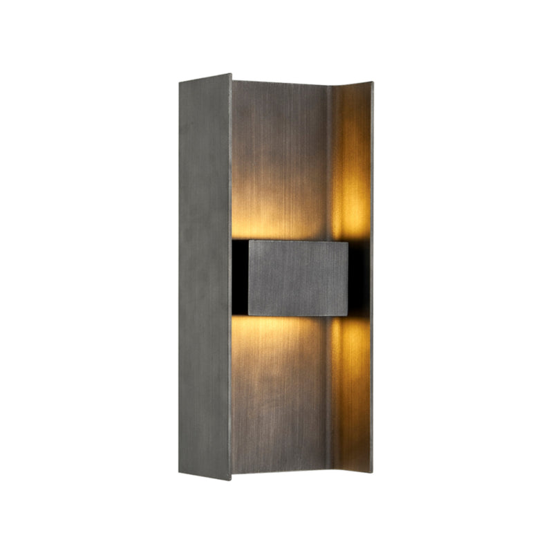 Troy Lighting B7291 Scotsman 2lt Wall in Hand-Crafted Aluminum