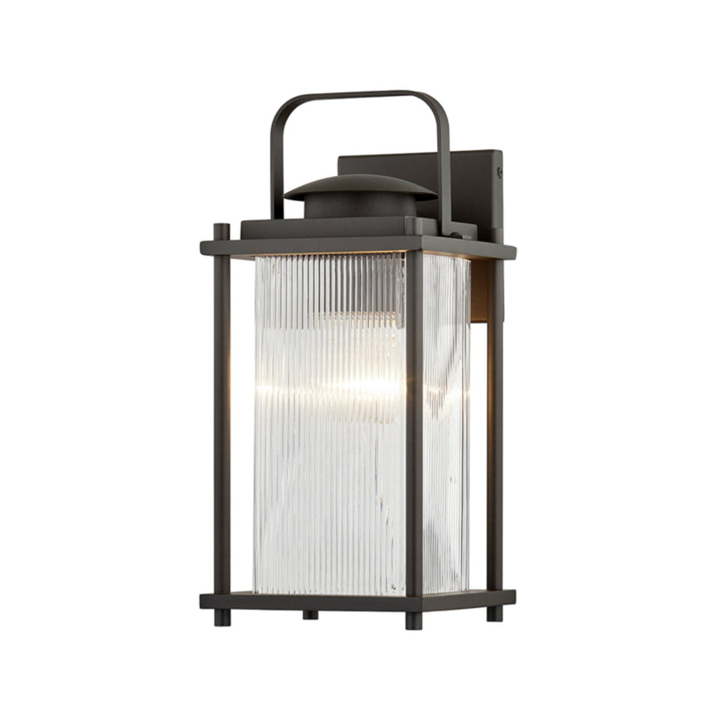 Troy Lighting B7311 James Bay 1lt Wall in Hand-Crafted Aluminum