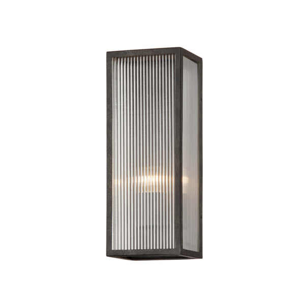 Troy Lighting B7391 Tisoni 1lt Wall in Hand-Crafted Aluminum