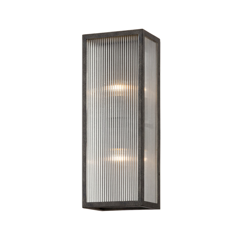 Troy Lighting B7392 Tisoni 2lt Wall in Hand-Crafted Aluminum