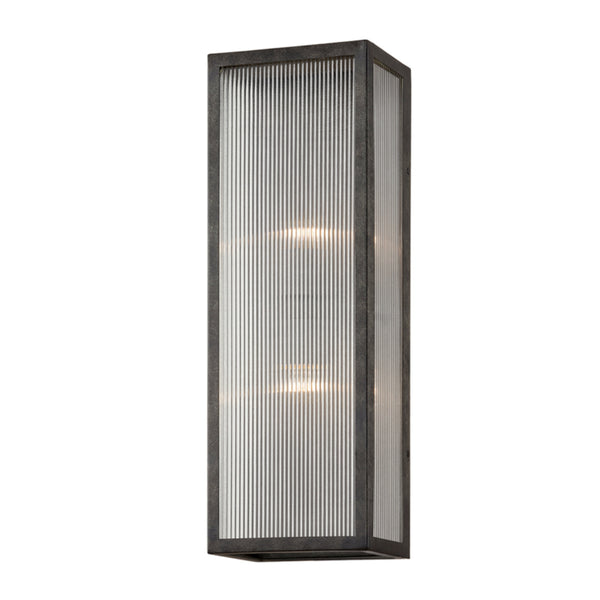 Troy Lighting B7393 Tisoni 2lt Wall in Hand-Crafted Aluminum