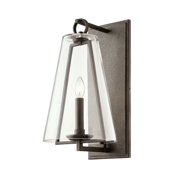 Troy Lighting B7402 Adamson 1lt Wall in Hand-Crafted Aluminum