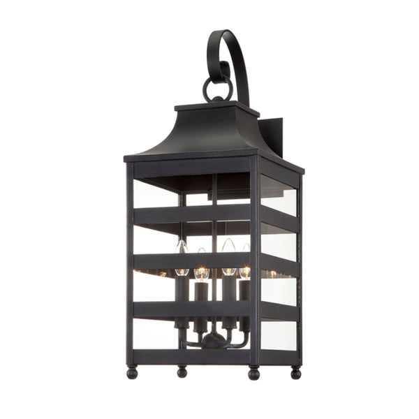 Troy Lighting B7433 Holstrom 4lt Wall in Hand-Crafted Aluminum