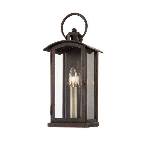 Troy Lighting B7441 Chaplin 1lt Wall in Hand-Crafted Aluminum