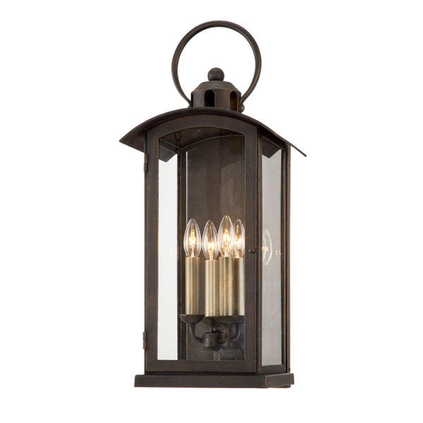 Troy Lighting B7443 Chaplin 4lt Wall in Hand-Crafted Aluminum
